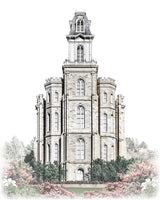 Manti Temple - Celestial Series