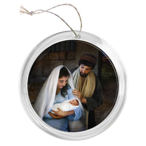 """Nativity"" Tree Ornament"