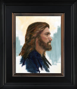 Jesus in Profile - Framed - Clearance