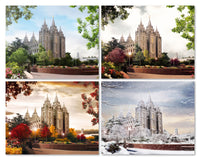 Salt Lake Temple - 4 Seasons Package