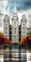 Salt Lake Temple - A Place of Safety