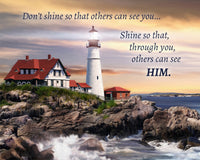 Lighthouse - Inspirational Printout