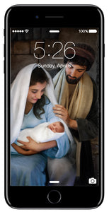 Nativity - Phone Screen Digital Image