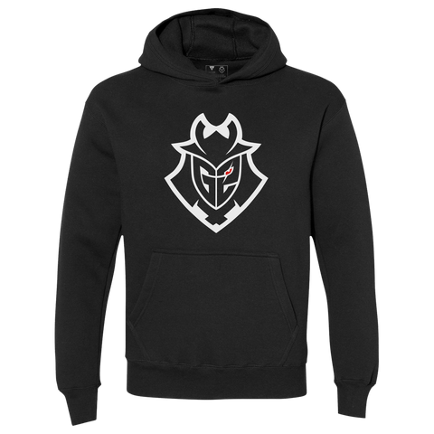 G2 Essentials Pullover Hoodie - Black - G2 Esports Official Shop