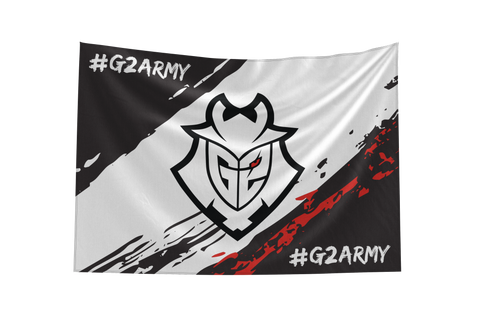 G2 Army Flag 2019 - G2 Esports Official Shop