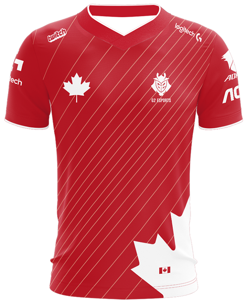 G2 Canada Jersey - G2 Esports Official Shop