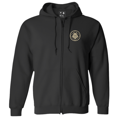 G2 Crest Zip Hoodie - Black - G2 Esports Official Shop