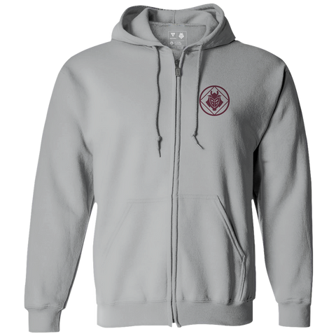 G2 Crest Zip Hoodie - Gray - G2 Esports Official Shop