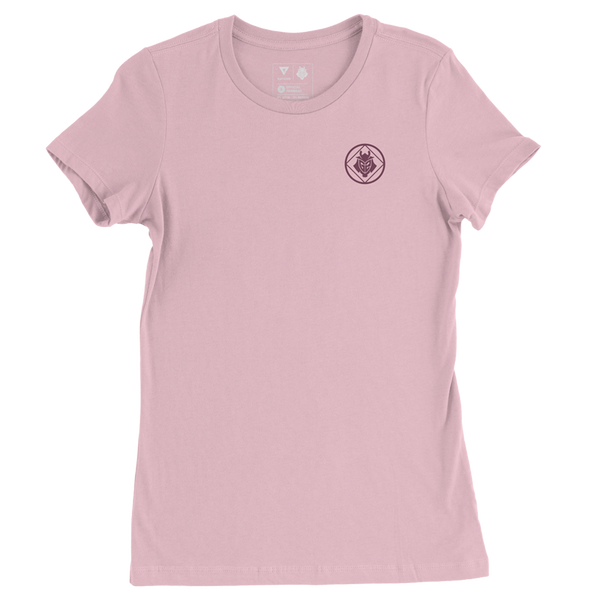 G2 Crest Womens T-Shirt - Pink - G2 Esports Official Shop
