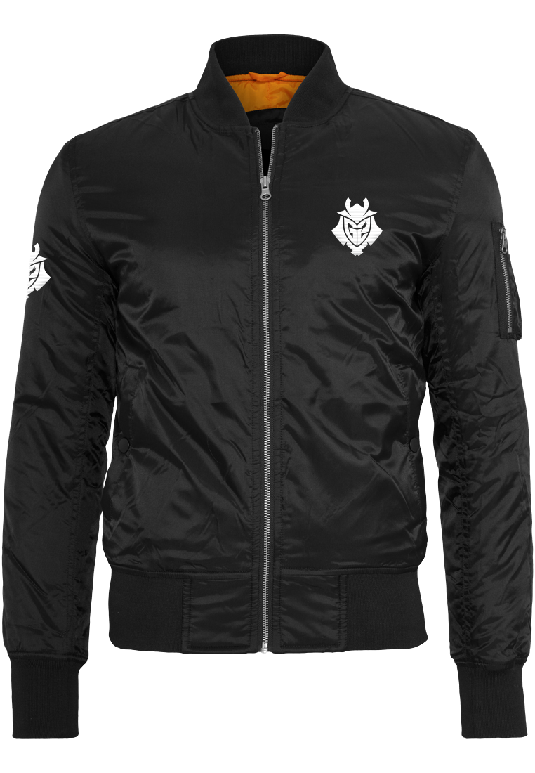 G2 Embroidered Bomber Jacket - G2 Esports Official Shop