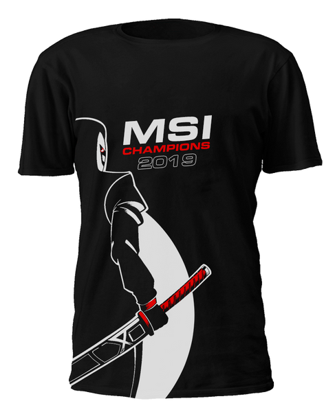 MSI Champions T-Shirt - G2 Esports Official Shop