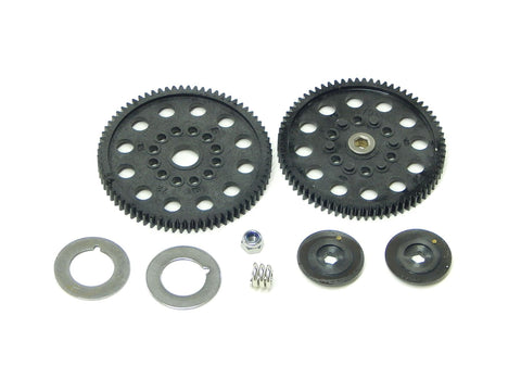 TRAXXAS NITRO RUSTLER SLIPPER CLUTCH WITH 70 & 72 TOOTH SPUR GEAR 4615