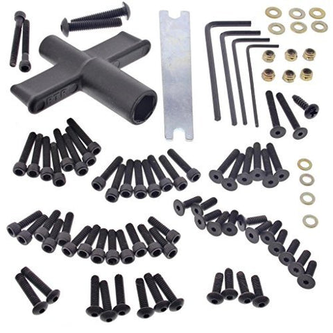 Losi 1/10 XXX-SCT Brushless 2WD 85+ PIECE SCREW & TOOL KIT Turnbuckle Wrench by Team Losi