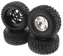 Traxxas Telluride 4x4 XL-5 4 * KUHMO TIRES & SCT WHEELS 12mm Hex (nuts axles rim