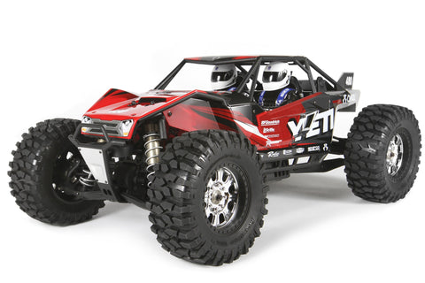 Axial Yeti XL 4WD RC Rock Racer Monster Buggy Off-Road 4x4 Electric Ready to Run with 2.4GHz Radio and Waterproof ESC, 1/8 Scale RTR