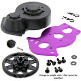 HPI 1/12 Wheely King 4x4 90T SPUR & 21T PINION GEAR, MOTOR PLATE & GEAR COVER