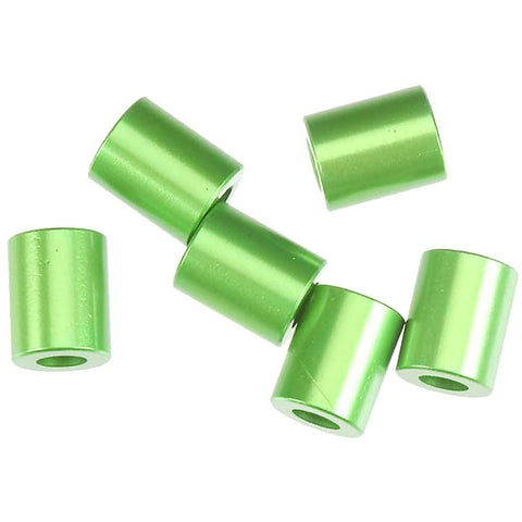 AXIAL AXA1307 Spacer, Green, 7.5 x 6mm