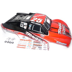 Traxxas Slayer Pro #25 RED/BLACK BODY Mike Jenkins