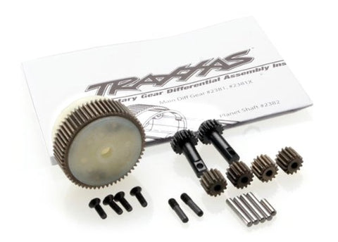 Traxxas 2388X Complete Planetary Gear Differential with Steel Ring Gear