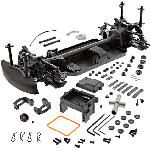 HPI 1/10 RS4 Sport 3 4WD Drift * ROLLER ROLLING CHASSIS with Full Time 4WD