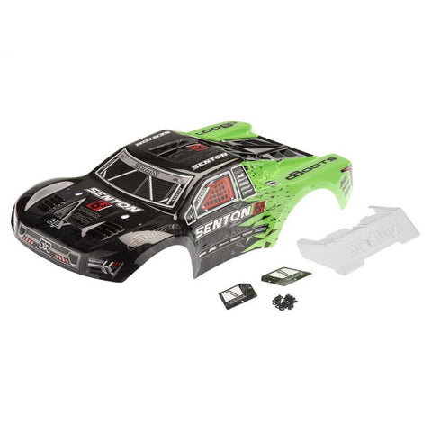 Arrma Body: Senton 6S Green/Black II