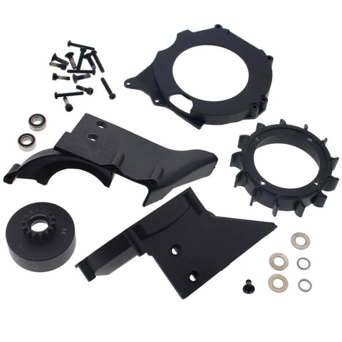 HPI 1/8 Savage XL Octane GT15C * 14 T CLUTCH BELL, 2 BEARINGS & COOLING FAN SET