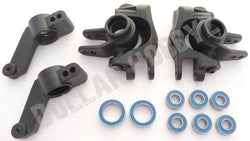Traxxas Stampede 4x4 VXL STEERING BLOCK & C-HUBS & BEARINGS Axle Carriers (6708) by Traxxas