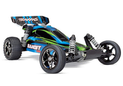 Traxxas 24076-4 Bandit VXL : Brushless 1/10 Scale 2WD RC Off-Road Buggy, Blue