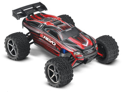 E-Revo: 1/16-Scale 4WD Racing Monster Truck with TQ 2.4GHz Radio, Red