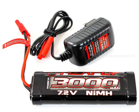 Redcat Racing Hexfly 3000mAh 7.2v NiMH Battery Pack w/HX-650M Wall Charger