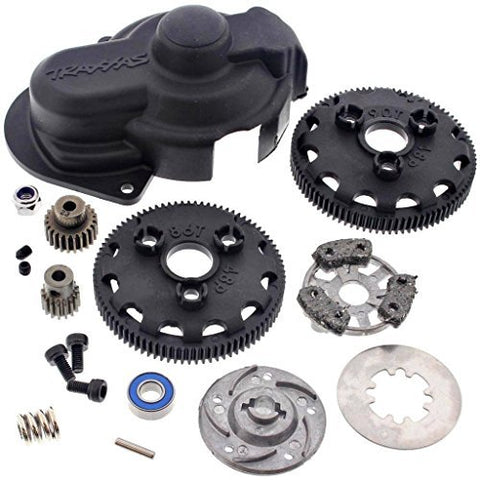 Traxxas Slash 2WD BRUSHED OR BRUSHLESS MODEL Spur Gears, Pinions & Slipper  Clutch FROM A BRAND NEW RTR SLASH 2WD 58024,58034,5807 by Traxxas