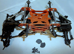 REDCAT ROCKSLIDE 1/10 ROLLING CHASSIS, MAKE THIS CHASSIS A GREAT CRAWLER