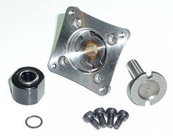 TRAXXAS 3.3 ENGINE ONE WAY BEARING, STARTER SHAFT AND BACK PLATE.,