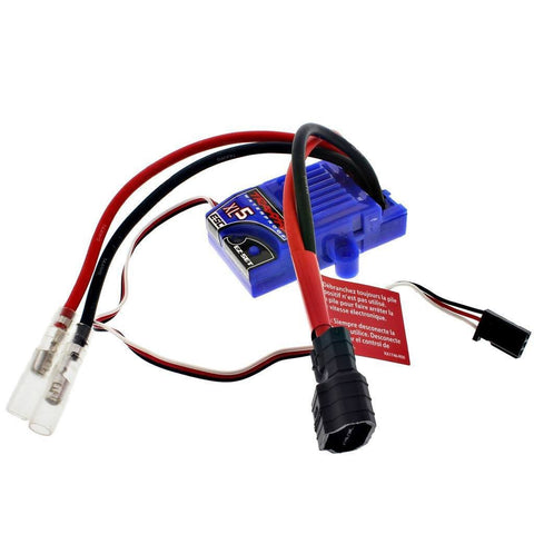 TRAXXAS SLASH 2WD XL-5 LOW PROFILE WATERPROOF ESC WITH LVD & iD CONNECTOR 3018R