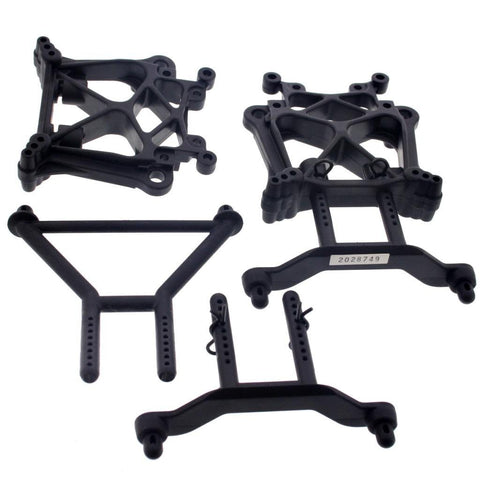 HPI 1/8 Savage XL Octane * FRONT & REAR SHOCK TOWERS, BODY POSTS, CLIPS * Mounts