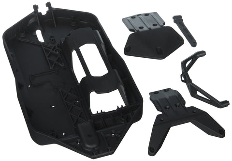 LOSI Chassis and Skid Plates: Tenacity MT