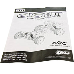 Losi 1/14 Mini 8ight Buggy * INSTRUCTION MANUAL *Owners Operation Guide LOS01004
