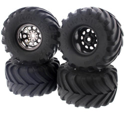 HPI 1/12 Wheely King 4x4 * MUD THRASHER TIRES & CLASSIC KING WHEELS * 12mm Hex