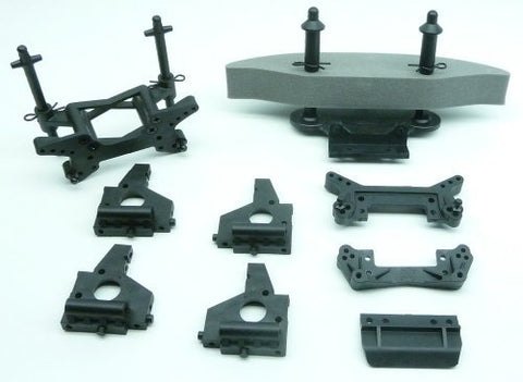 HPI Sprint 2 Flux FRONT BUMPER / BODY POSTS / SHOCK TOWERS / BULKHEADS106159 by HPI Racing