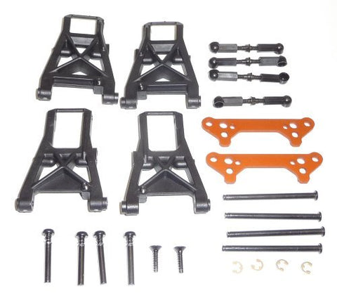 HPI 1/10 Sprint 2 Sport SUSPENSION ARMS TIE ROD TURNBUCKLES HINGE PINS & BRACES by HPI