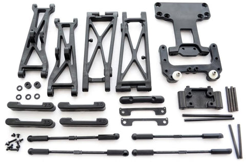 AE Team Associated 1/10 SC10 RS 2WD ARMS TURNBUCKLES TIE ROD HINGE PINS BULKHEAD