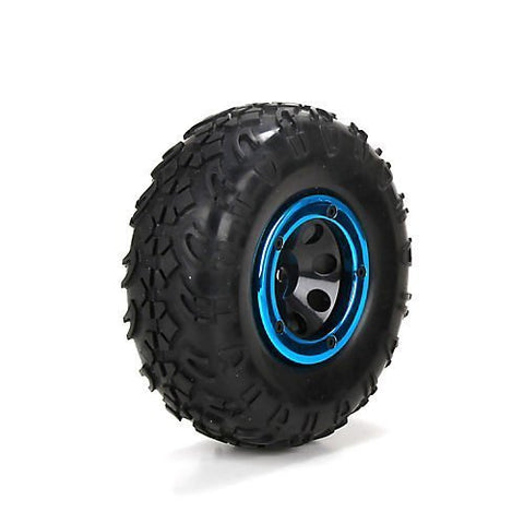 ECX Front/Rear Pre-mounted Tire (2): 1:18 4WD Temper ECX41003 by ECX