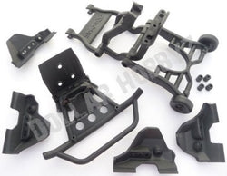 Traxxas Stampede 4x4 VXL WHEELIE BAR / FRONT BUMPER / SHOCK GUARDS (Skids (6708)