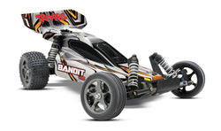 RARE SILVER Traxxas 24076-3 Bandit VXL: 1/10 Scale 2WD Brushless Buggy with TQi