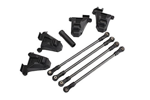 Chassis conversion kit, TRX-4 (short to long wheelbase) (includes rear upper & lower suspension links, front & rear shock towers, long female half shaft)