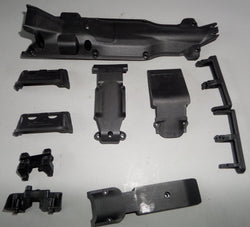 Traxxas Summit 1/10 Skid Plates and Plasic Hardware