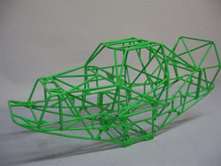 AXIAL 1/10 GRAVE DIGGER COMPLETE CAGE, THIS CAGE IS TOTALLY TOGETHER AND COMES WITH MONSTER TRUCK DRIVER INTERIOR SET