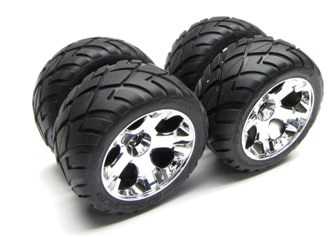 Jato 3.3 WHEELS & TIRES (5576R 5578 5576 Anoconda Glued set of 4) Traxxas #5507