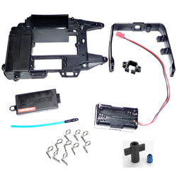 Traxxas Jato 3.3 UPPER CHASSIS, RECEIVER BOX COVER, ROLL HOOP & BATTERY HOLDER