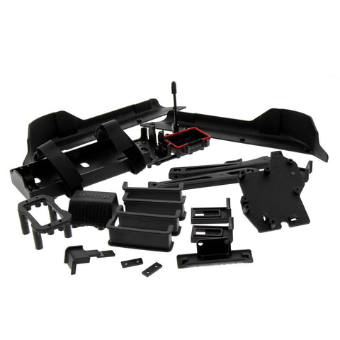 Arrma Typhon 6S BLX Buggy 1/8: Battery & ESC Tray, Side Guards, Body Mount